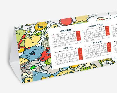 ABCD SL - Imagen calendario 2020 con peana